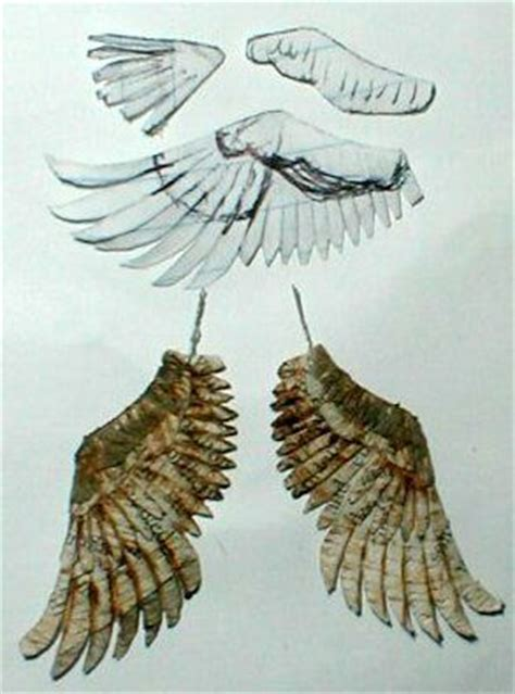 How To Make Bird Wings Out Of Paper - top 25 best paper birds ideas on bird