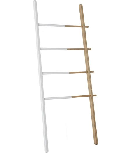 Leaning Ladder Towel Rack umbra leaning towel rack in free standing towel racks