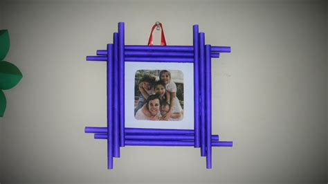 how to frame a print latest diy photo frame easy to make made with colorful