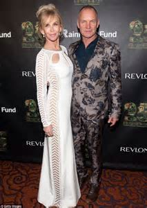 Sting gets support from wife Trudie Styler and family at