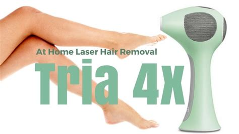 tria hair removal laser 4x review at home laser