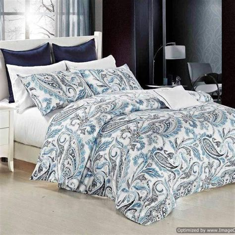 bedroom covers sets teal paisley bed covers daniadown sicily paisley duvet