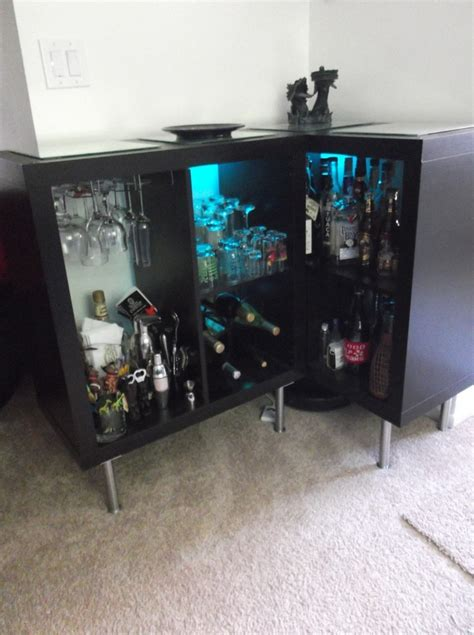 ikea hack bar ikea bar hack google search new house ideas pinterest