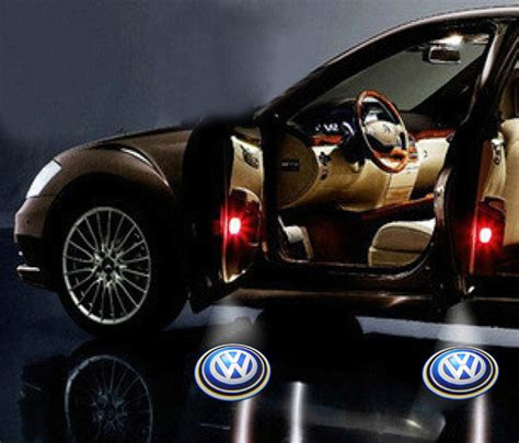 Auto Logo Verwenden by 2 Vw Volkswagen Logo Led Light Bulbs Projection Courtesy