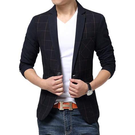 design of jacket suit 2015 new arrival plaid men suit fashion design mens black