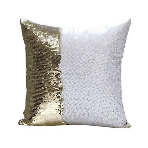 Sofa Pillow Cases Cushion Covers Throw Pillow Cases Mermaid Cover Glitter