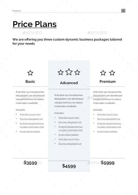 menu design proposal design proposal template by tontuz graphicriver