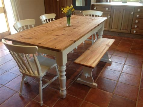 kitchen table with bench and chairs farmhouse kitchen tables and chairs marceladick com