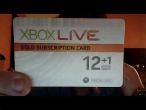 Free Xbox Live Codes Giveaway 2014 - free xbox live gold 12 month membership card giveaway youtube