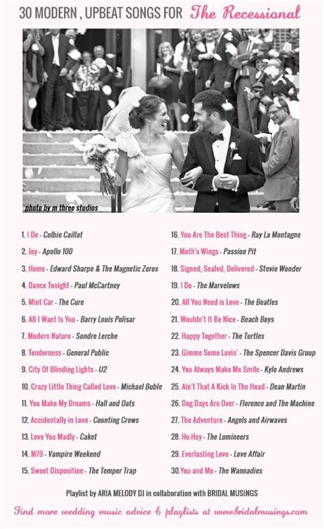 Wedding Aisle Exit Songs by Best 25 Songs For Wedding Ceremony Ideas On
