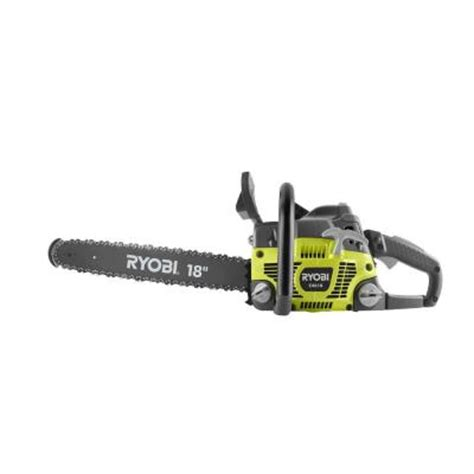 ryobi 18 in 46 cc 2 cycle gas chainsaw ry10519b the