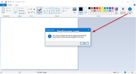 windows 10 paint tutorial restore paint app in windows 10 windows 10 tutorials