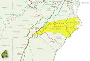 North Carolina United States Map by North Carolina