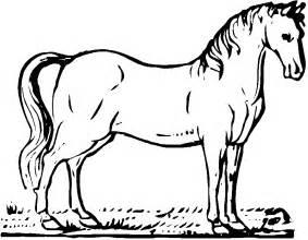mewarnai kuda kelompok bermain alia
