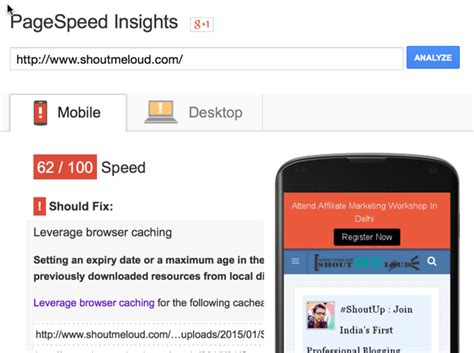 check speed mobile check the speed of your mobile website