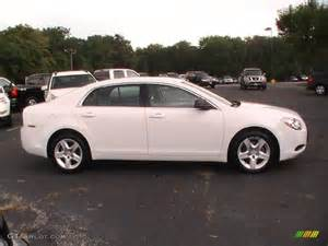summit white 2012 chevrolet malibu ls exterior photo