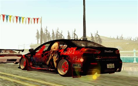 andreas auto design gta san andreas mitsubishi lancer evolution x with ken