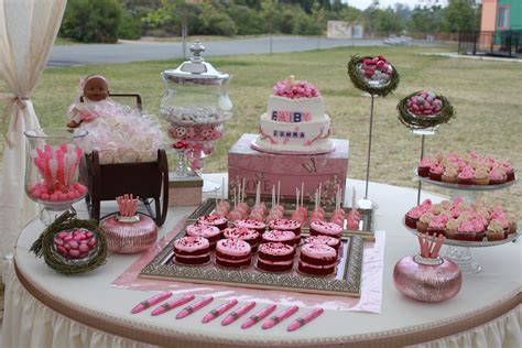 Pink Baby Shower Foods for the sweet baby shower