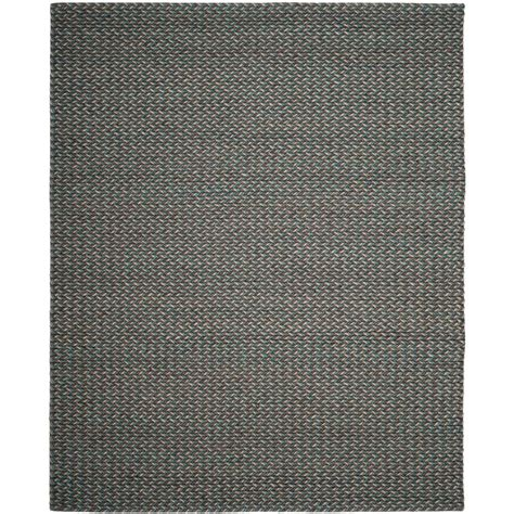 Turquoise And Gray Area Rug Safavieh Manhattan Turquoise Gray 8 Ft X 10 Ft Area Rug Man258c 8 The Home Depot