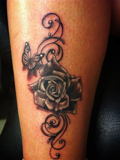 roses with butterflies tattoos 12 best images about s on butterfly