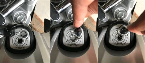 How Magnetic Key Shutter how magnetic key shutter works on a motorcycle cara kerja
