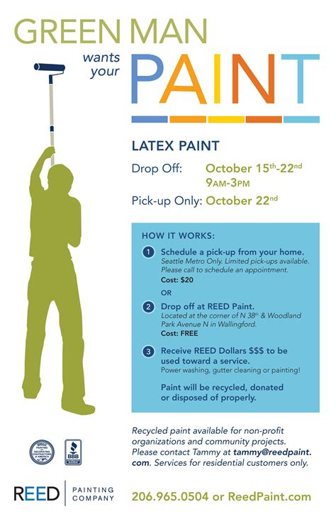 flyer template latex recycling and reuse nw go green seattle eco friendly