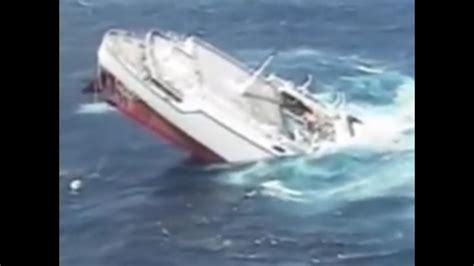 boat sinking statistics the sinking of the cruise ship youtube