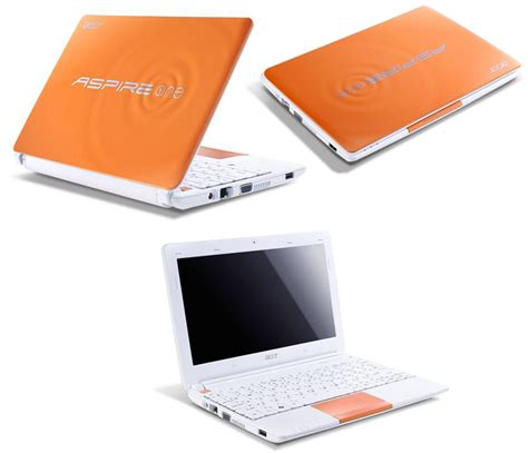 Laptop Acer Aspire One Happy 2 acer aspire one happy 2 orange n570 1024mb 250gb 25 7cm 10 1 304 99 allpart24