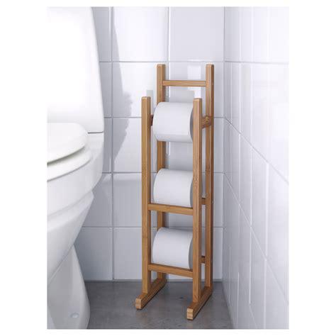 ikea toilet storage r 197 grund toilet roll stand bamboo ikea