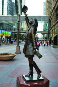 Mary Tyler Moore Apartment Minneapolis mary tyler moore statue on nicollet mall in downtown minne