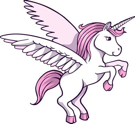 imagenes de unicornios para niñas adhesivo infantil de un unicornio alado