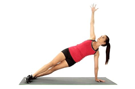floor ls with extended arm by directions on how to do the plank