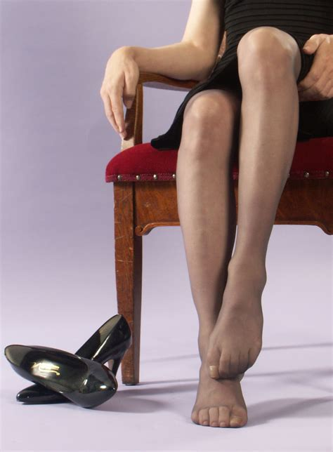 Pantyhose feet   LadeeAlana   Flickr