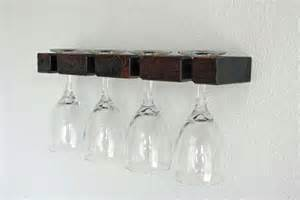 wine glasses rack wall mounted wine glass rack by