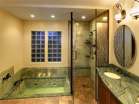 custom bathtub shower combo walk in shower design ideas photos and descriptions