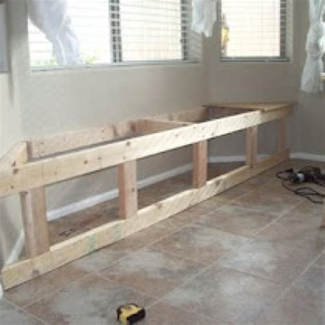 how to build a built in bench seat pdf plans how to build a bay window storage bench download