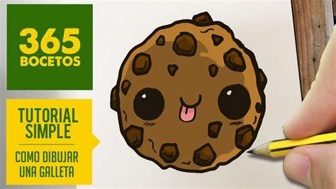 imagenes de galletas kawaii como dibujar una galleta kawaii paso a paso dibujos