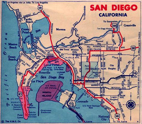 maps san diego california map san diego