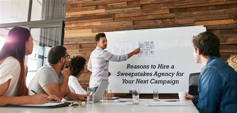 Sweepstakes Agency - reasons to hire a sweepstakes agency for your next caign sync marketing
