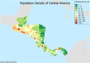 population density of central america oc 3507x2480