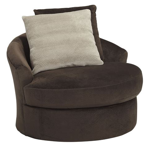 Dahlen Chocolate Swivel Accent Chair From Ashley 8830244 Accent Chair Swivel