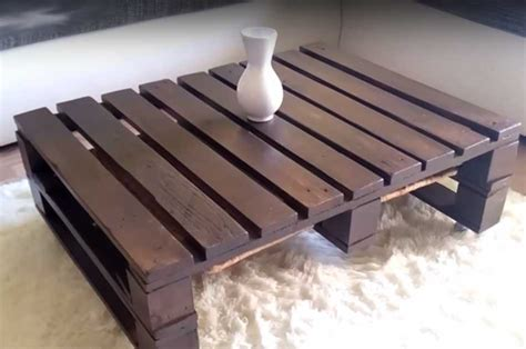 How To Make A Coffee Table Out Of Wooden Crates How To Make Coffee Table Out Of Pallet Diy Projects Craft Ideas How To S For Home Decor With