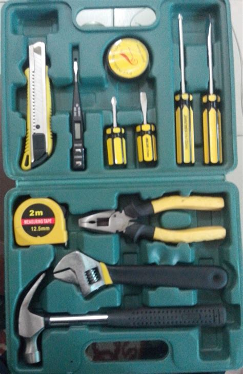 Tool Set Perlengkapan Rumah 12 Pcs Homeowners Set Rewin Rz1 T1310 5 jinma tools make 12 pcs tools set for home office