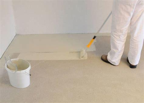estrich streichen garagenboden selbst beschichten unsere tipps