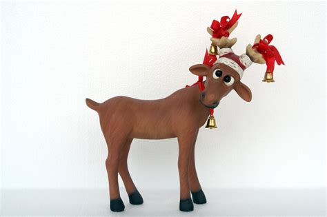 christmas decoration reindeer holliday decorations