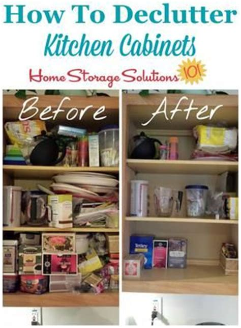 how to declutter kitchen declutter kitchen cabinets and step by step instructions