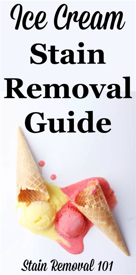removing chocolate stains from upholstery ice cream stain removal guide