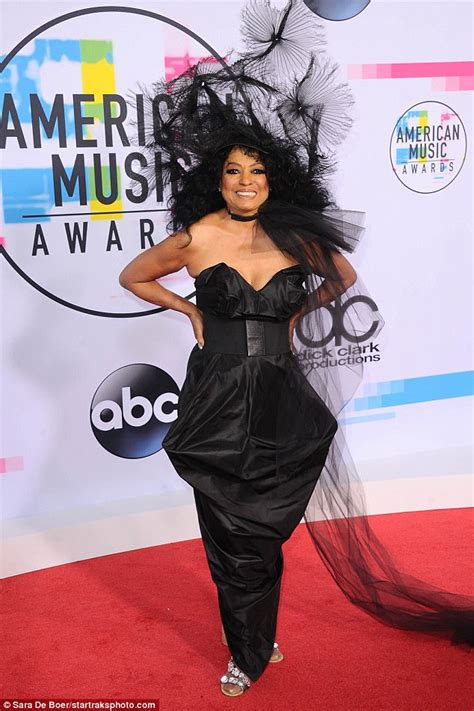 by ken levine diana ross as hot lips amas tracee ellis ross is joined by family on red carpet