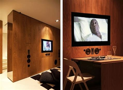 Home Theater Hi Tech intelligent et hi tech petit appartement avec fonctionnalit 233 s hallucinantes vid 233 o immobilier