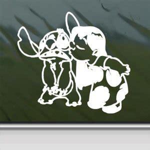 Decal And Sticker Macbook Stitch Color 2 disney white sticker decal lilo and stitch